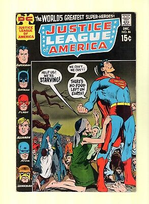 Justice League of America #86  -- JLA - Neal Adams cover! -- --  6.5  FN+  cond.