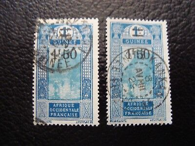 GUINEA - stamp yvert/tellier n° 103 x2 cancelled (A18) (Z)