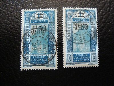 GUINEA - stamp yvert/tellier n° 103 x2 cancelled (A18) (E)