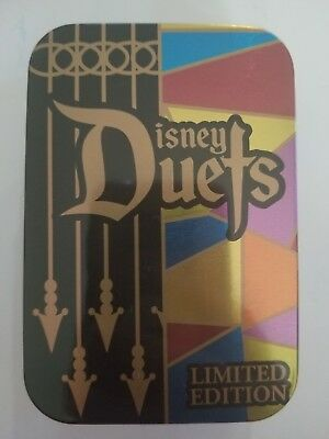 Disney Parks Duets Pin of the Month LE 3000 Queen of Hearts Alice in Wonderland