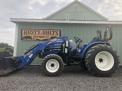 2012 New Holland Boomer 40 4X4 Compact Tractor Loader Low Hours. Cheap Ship