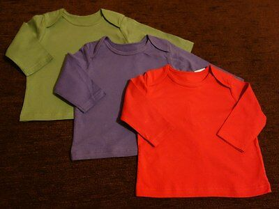Boys' 3 pack Tesco F&F Tops 0-3 Months New with Tags