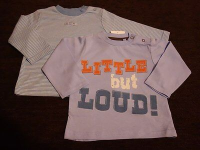 Boys' 2 Pack TU Top 6-9 Months Sainsbury's New with Tags Little but Loud