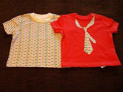 Boys' 2 Pack Tie Cherokee T-shirts 3-6 Months New with Tags