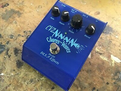 DLS Effects CV2 Chorus Waves Guitar Effects Pedal Made in USA