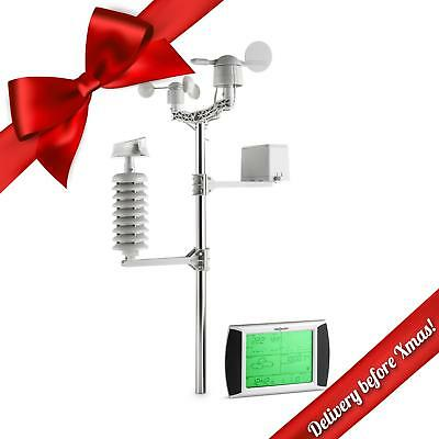 Oneconcept Beaufort Wireless Weather Station With Lcd Touch Display