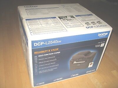 Brand New Brother DCP-L2540DW Wireless All-In-One Laser Printer Auto Duplex NIB