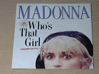 "7"" MADONNA * Who`s That Girl (FILM OST)"