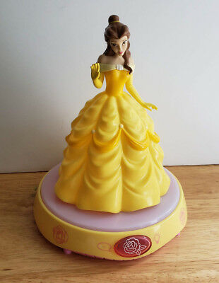 DISNEY Beauty and the Beast BELLE Talking Musical Night Light
