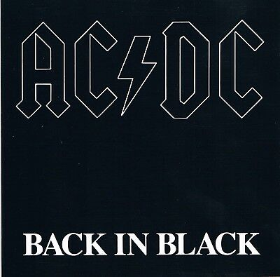 AC/DC ‎– Back In Black  CD, Album, Reissue