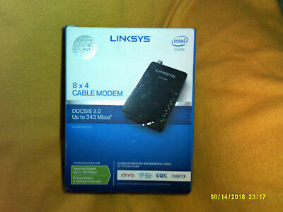 Linksys 8x4 Cable Modem (CM3008) DOCSIS 3.0 Up to 343 Mbps