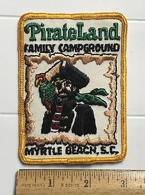 Pirateland Family Campground Camping Myrtle Beach South Carolina Souvenir Patch