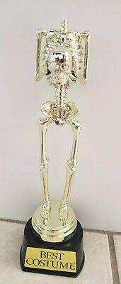Halloween Prop Life Size Human Skull Skeleton Haunted House Decoration 10 inch