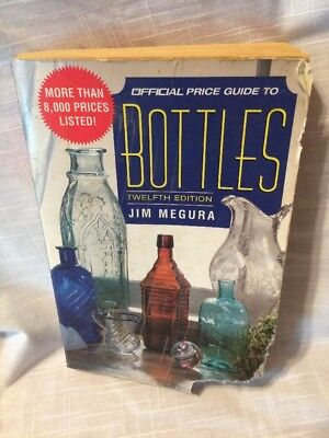 Official Price Guide To Bottles 12th Edition 1998