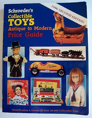 Schroeders 1996 Second Edition Collectible Toys Antique To Modern Price Guide