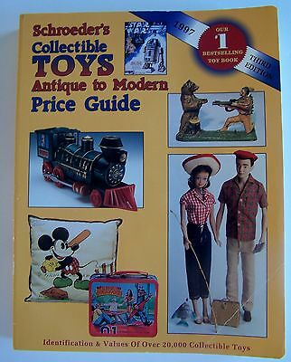 Schroeders 1997 Third Edition Collectible Toys Antique To Modern Price Guide