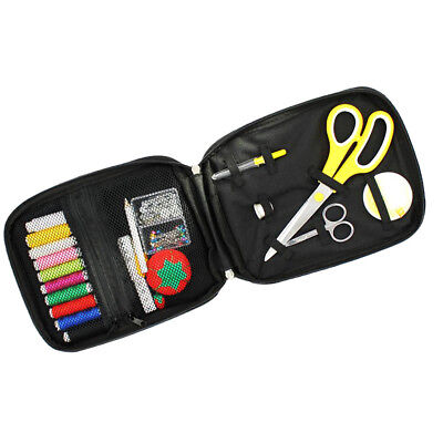 Sewing Kit for Home Travel with Thread Threader Needle Tape Measure Scissor