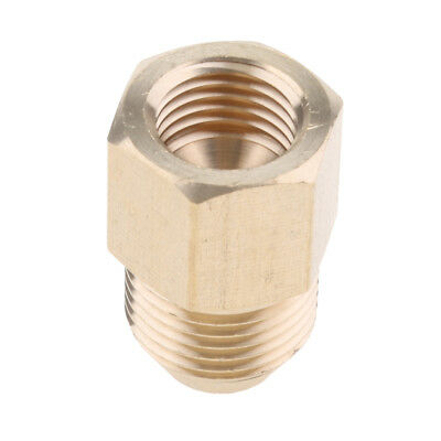 Brass 14mm Female X 18mm Male Hose Coupling Connector Fitting Adapter Tool
