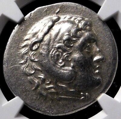 NGC AU 5/5-4/5. Lycia Phaselis. Tetradrachm. Name & Types of Alexander the Great