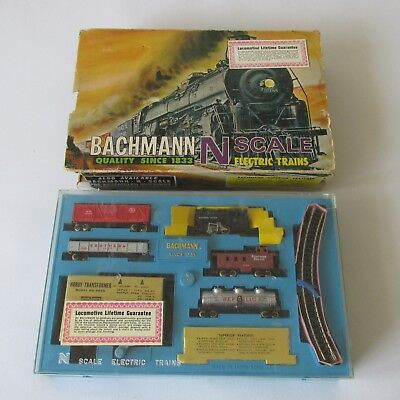 Vtg Bachmann N Scale Electric Trains Southern Pacific Complete W/ Instructions