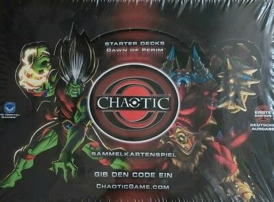 Sammelkartenspiel Chaotic Dawn of Perim Starter Deck Display Box