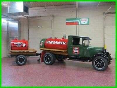 Ford Model A 1930 FORD MODEL AA SINCLAIR FUEL TANKER 1930 FORD MODEL AA SINCLAIR FUEL TANKER