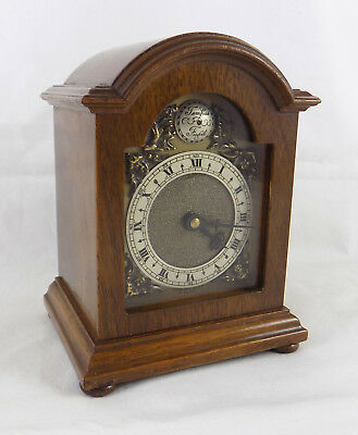 Miniature Bracket Clock By Davall With Carriage Clock Movement - Fully Serviced