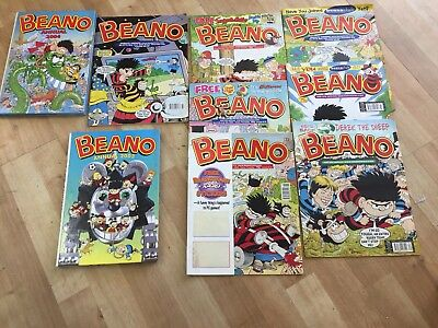 Joblot Of Vintage Beano Comics And Annuals