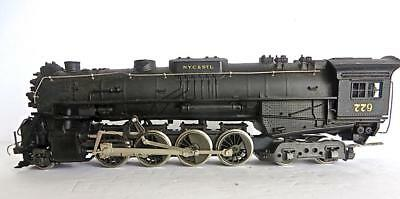 HO Rivarossi 2-8-4 NYC&STL Steam Locomotive Only Tested No Tender