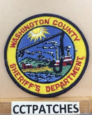Washington County, Maryland Sheriff (Police) Shoulder Patch Md