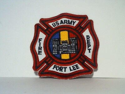 Fort Lee Va. Us Army Fd Patch