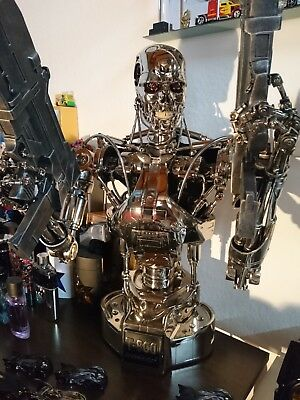 Sideshow Terminator T-800 Endoskeleton Collectible T2, Hollywood Collectors 1:2
