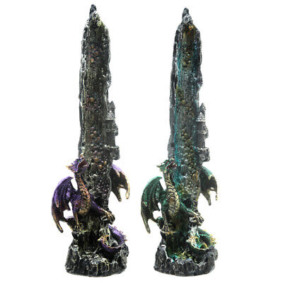Dragon Waterfall Gothic Incense Stick Burner Holder Ashcatcher