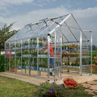 Palram Snap & Grow 8 x 12 ft. Greenhouse