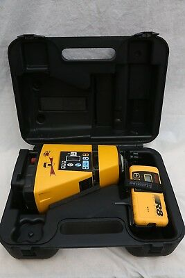 Pro Shot AS2 Magnum Slope Rotary Laser Level with R8 Receiver Detector