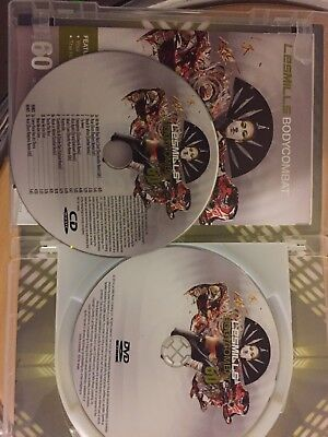 Les Mills Body Combat 60, CD, DVD and Choreography Notes