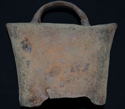 Ancient Viking LARGE Iron Battle Bell. Stunning Norse Chime, c 950-1000 Ad. Big!