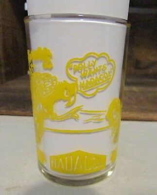 Vintage Hadacol Advertising Swanky Swig Tuesday Yellow Lettering Cute Rare