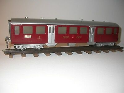 HAG 157 A Passenger coaches SBB CFF, scale 0. Manufactured 1948-1952.