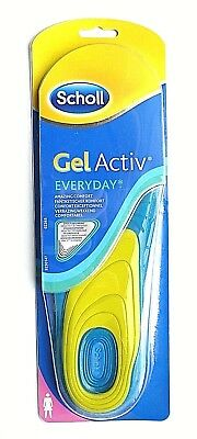 Scholl Gel Activ Everyday Insoles For Women Size UK 5-8  EUR 38-42
