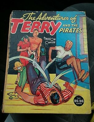 THE ADVENTURES OF TERRY AND THE PIRATES by Milton Caniff 1938 The BIG BIG Book