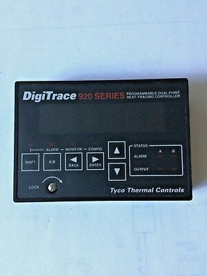 Tyco DigiTrace 920 Series Programmable Dual Point Heat Tracing Controller 920CON