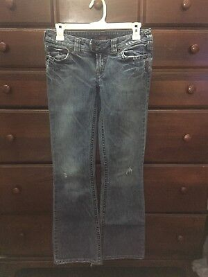 SILVER JEANS Tuesday Quality Pants Womens Sz 26/31 Fashion Casual