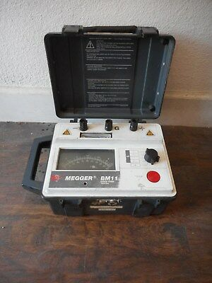 Megger BM11 5kV Analog Insulation Tester