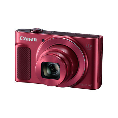 Canon PowerShot SX620 HS 25X Zoom RED Camera With Built in WiFi