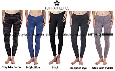Tuff Athletics Ladies Workout Tight Leggings High Waist Active Various NWT