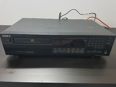 Sony CD Player Modell CDP-411 Compact Disc HiFi Spieler CDP411