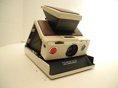 Polaroid SX-70 Original Model Camera with Case As-is