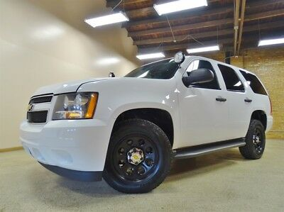 Tahoe 4WD SSV Police 2013 Chevy Tahoe 4WD Police Package, White, 91k Miles, 6 Pass. Tow Package.
