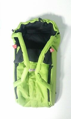 Phil & Teds Infant Newborn Baby Cocoon Bed Carrier Carrycot Portable Warm Green
